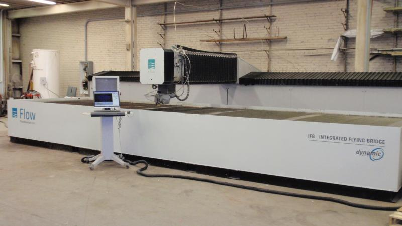 Waterjet Machine 6 by 24 foot